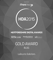Gold award - blog